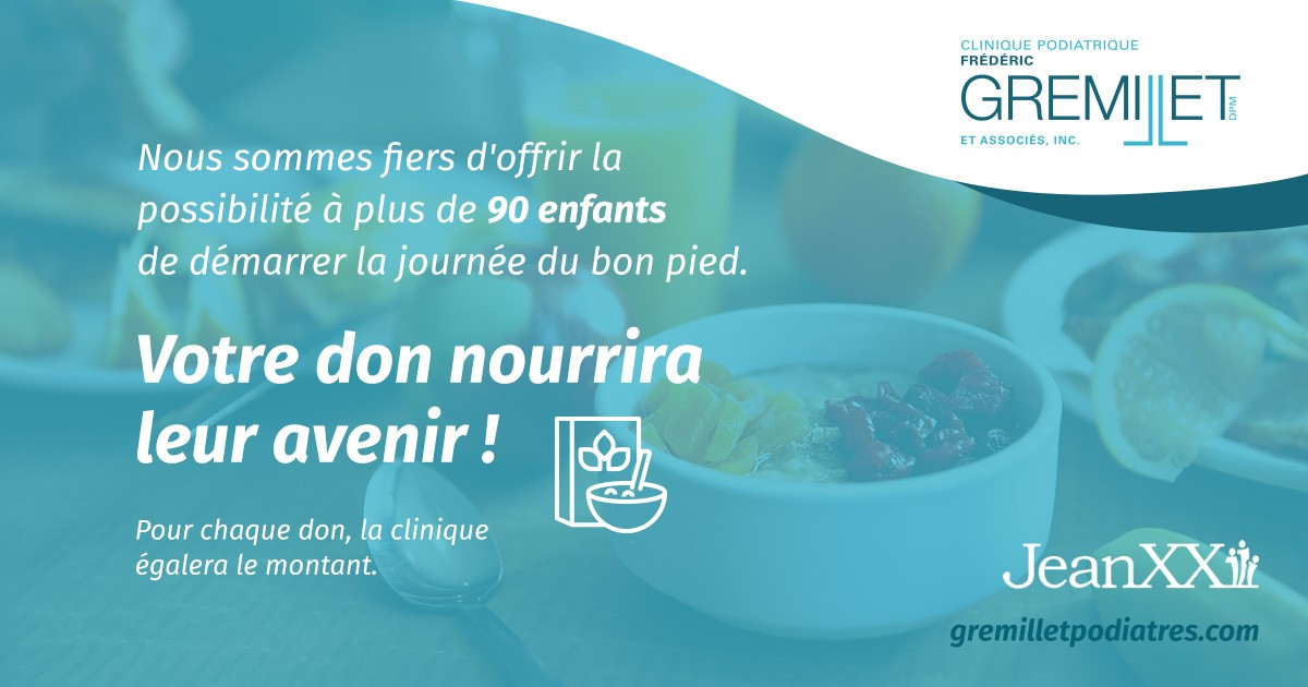 News | Clinique Frédéric Gremillet et associés | Podiatrist in Candiac